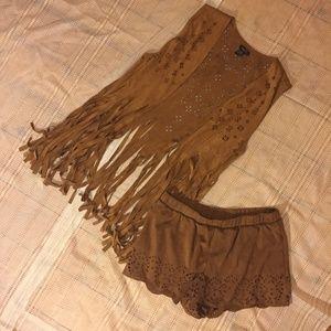 Rue 21 Fringe Boho Outfit